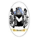 Warton Sticker (Oval 10 pk)
