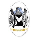 Warton Sticker (Oval 50 pk)