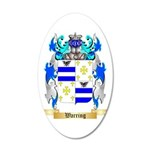 Warring 35x21 Oval Wall Decal