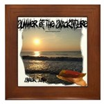 Summer Of Snackintyre Framed Tile