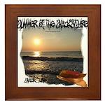 Summer Of Snackintyre Framed Tile