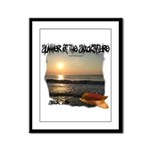 Summer Of Snackintyre Framed Panel Print