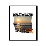 Summer Of Snackintyre Framed Panel Print