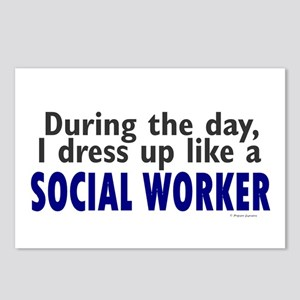 Dress Up Like A Social Worker Postcards (Package o
