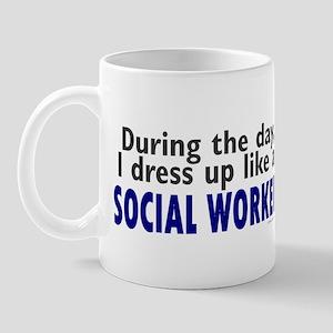 Dress Up Like A Social Worker Mug