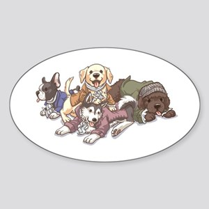 Hamilton Musical x Dogs Sticker