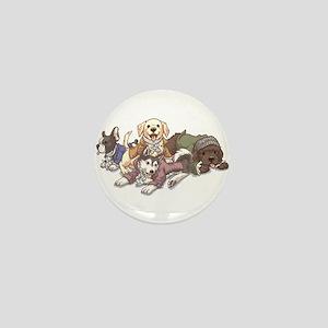Hamilton Musical x Dogs Mini Button
