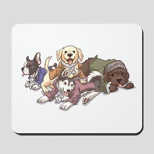 Hamilton Musical x Dogs Mousepad