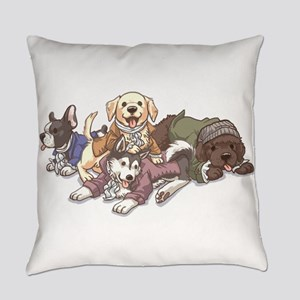 Hamilton Musical x Dogs Everyday Pillow