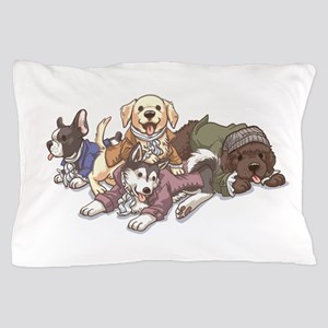 Hamilton Musical x Dogs Pillow Case