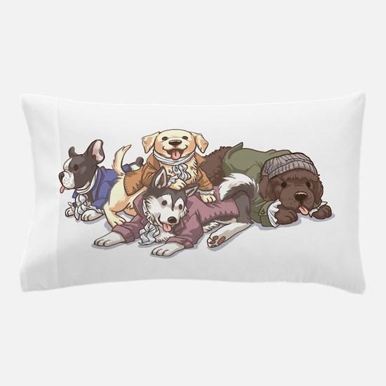 Hamilton Musical x Dogs Pillow Case