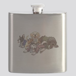Hamilton Musical x Dogs Flask