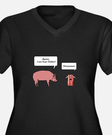 Bacon, I am Your Farther Plus Size T-Shirt
