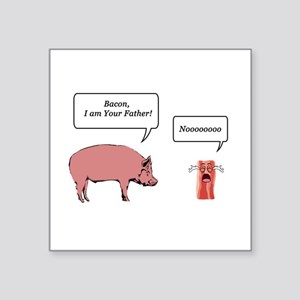 Bacon, I am Your Farther Sticker