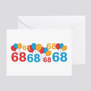 68 years old - 68th Birthday Greeting Cards