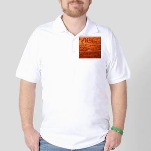 Hieroglyphs20160332 Golf Shirt