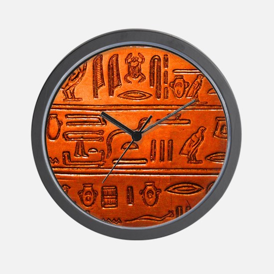 Hieroglyphs20160332 Wall Clock
