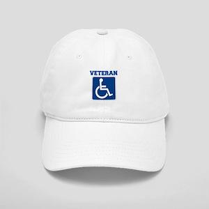 Disabled Handicapped Veteran Baseball Cap