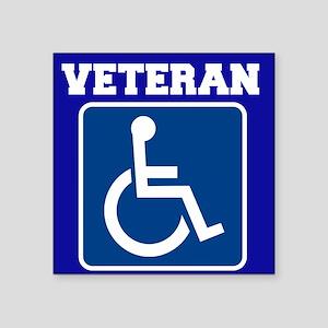 Disabled Handicapped Veteran Sticker