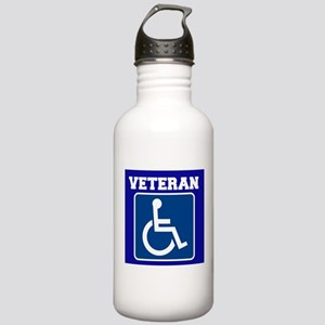 Disabled Handicapped Veteran Water Bottle
