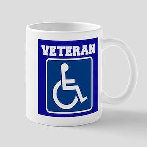 Disabled Handicapped Veteran Mugs