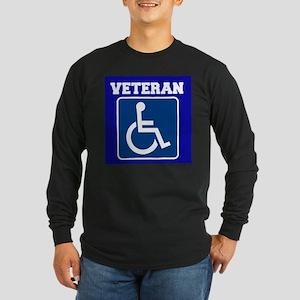 Disabled Handicapped Veteran Long Sleeve T-Shirt