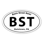 Basin Street Hotel Sticker