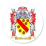 Warrin Round Car Magnet