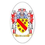 Warrin Sticker (Oval 50 pk)