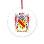 Warrin Round Ornament