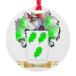 Warrick Round Ornament