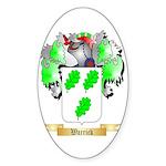Warrick Sticker (Oval 50 pk)