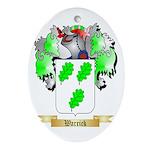 Warrick Oval Ornament