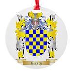 Warren Round Ornament
