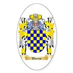 Warren Sticker (Oval 10 pk)