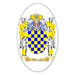 Warren Sticker (Oval 50 pk)