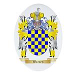 Warren Oval Ornament