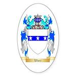 Warr Sticker (Oval)