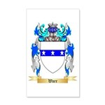 Warr 20x12 Wall Decal