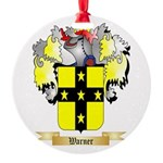 Warner 2 Round Ornament