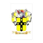 Warner 2 Sticker (Rectangle 50 pk)