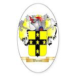Warner 2 Sticker (Oval 50 pk)