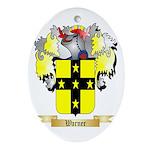 Warner 2 Oval Ornament