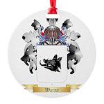 Warne Round Ornament