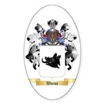 Warne Sticker (Oval)