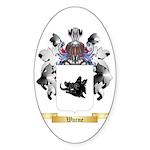 Warne Sticker (Oval 50 pk)
