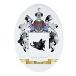 Warne Oval Ornament
