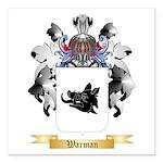 Warman Square Car Magnet 3