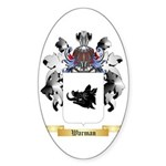 Warman Sticker (Oval 10 pk)