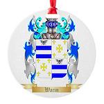 Warin Round Ornament